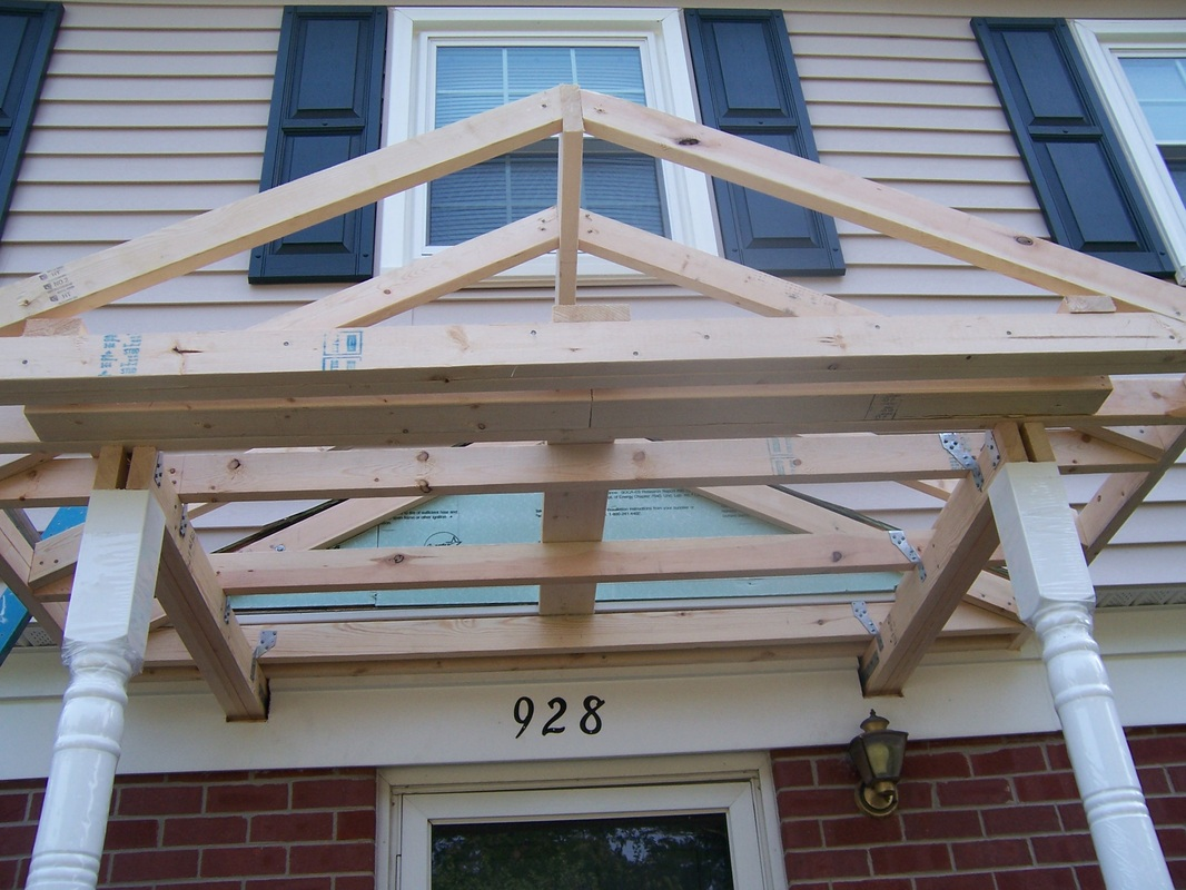 New Front Porch Commonwealth Quality Construction